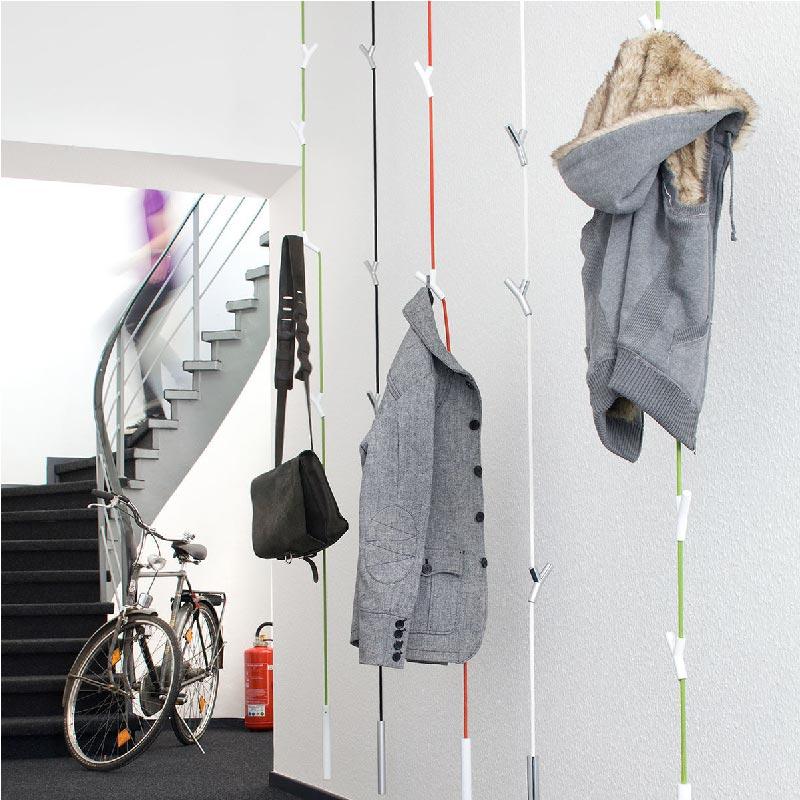 appendiabiti da parete o soffitto Wardrope di Authentics