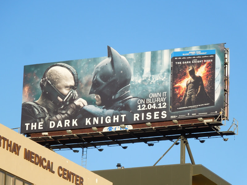 Dark Knight Rises Bluray special extension billboard
