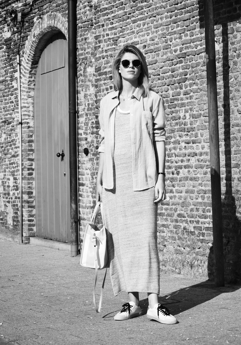 Outfit of the day, Saint Laurent, Céline, Dewolf, American Vintage, Liv The Label, Balenciaga, Anne Zellien, Minitials, Tiffany Co, ootd, style, fashion, blogger, pregnant, maxi dress, maternity