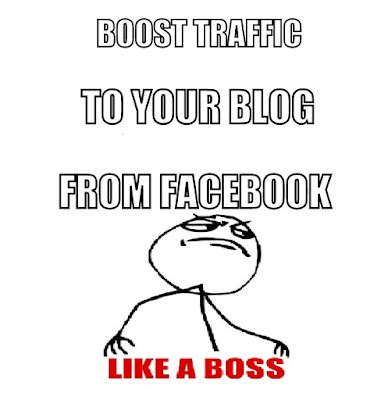 Grow Traffic from Facebook to your Blog or Website