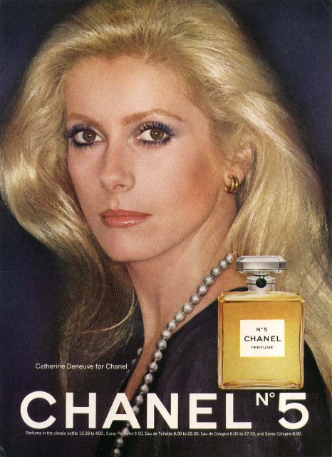CHANEL N5 CATHERINE DENEUVE GT FASHION DIARY