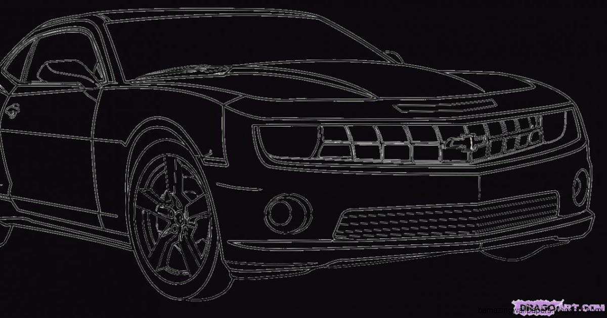 Cool Camaro Drawings | Amazing Wallpapers