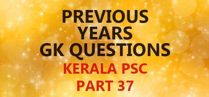 PSC GK Part 37