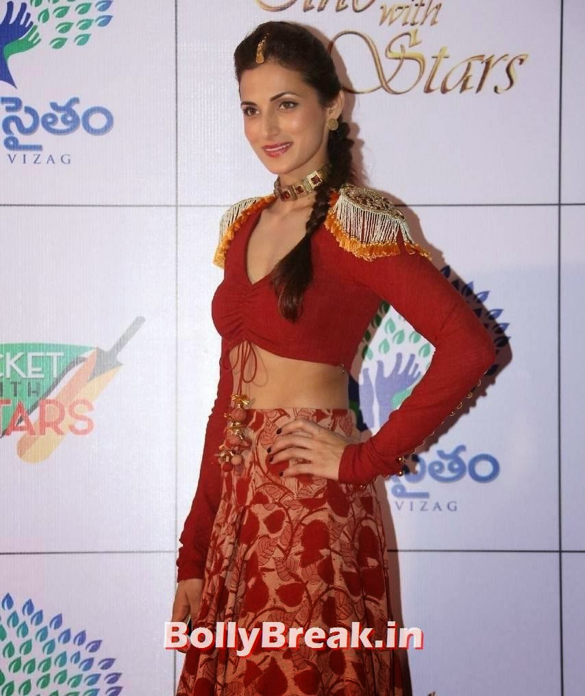 Shilpa Reddy Photo Gallery, Shilpa Reddy Navel Pics in Red Hot Dress