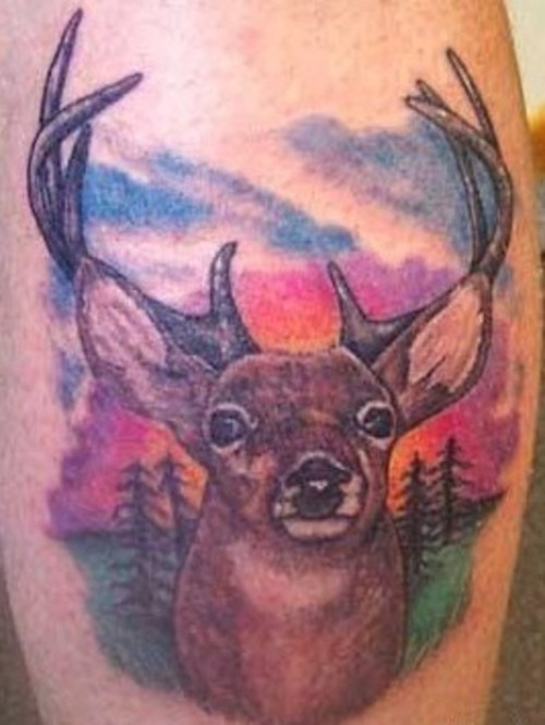 3861a27c4 Deer Tattoos Deer Portrait Tattoo Design Deer Tattoos Deer Tattoos