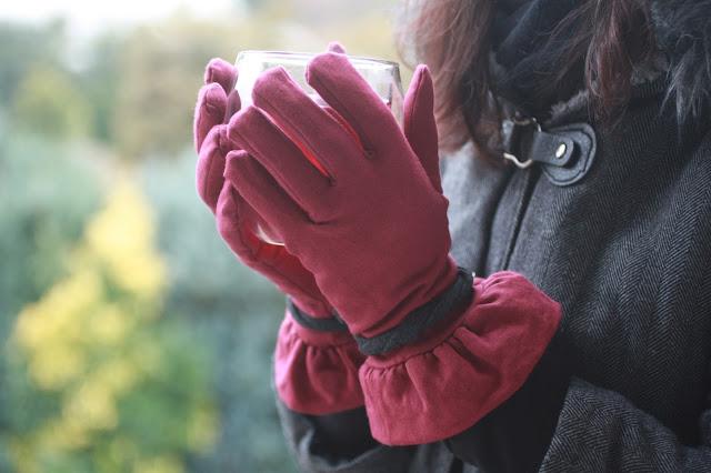 nähen; handschuhe; Die wilde Matrossel; schneehase; fingerhandschuhe