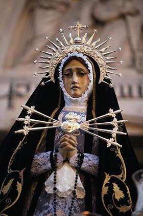Procesión María Santísima de los Siete Dolores - Viernes Santo