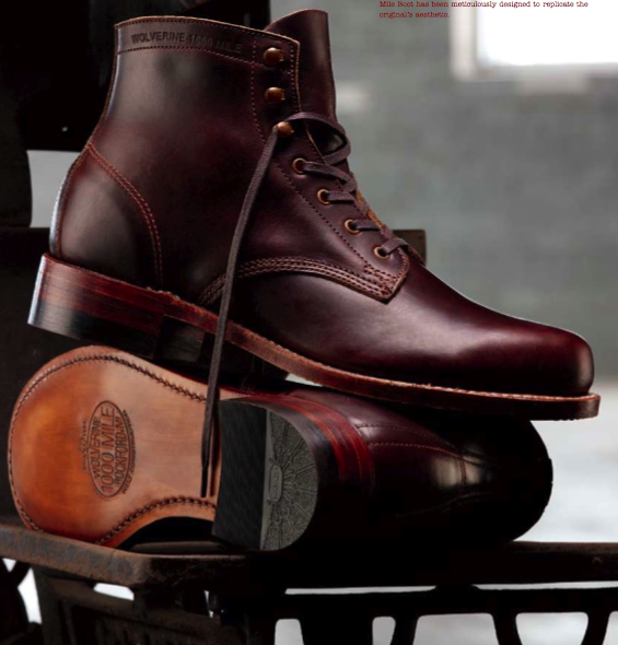 Rugged Style Wolverine 1000 Mile Boots
