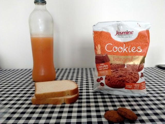 Café da manhã com cookies
