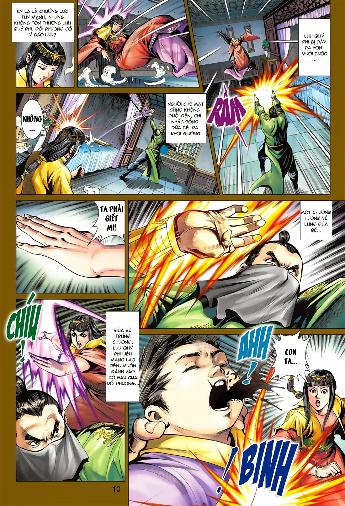 Anh Hùng Xạ Điêu anh hùng xạ đêu chap 78: sát anh trang 10