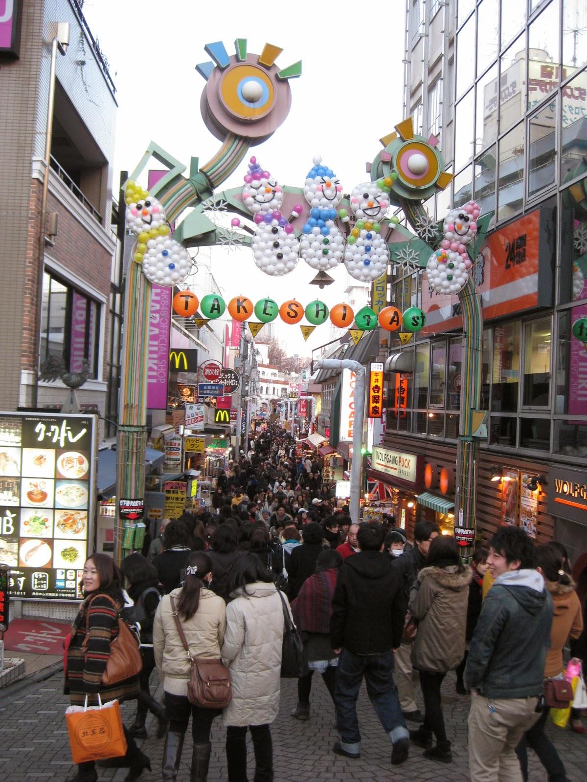 Toyko - Shopping in Harajuku