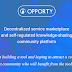 """""""Opporty"""" Pasar layanan Berbasis Komunitas Terdesentralisasi"""
