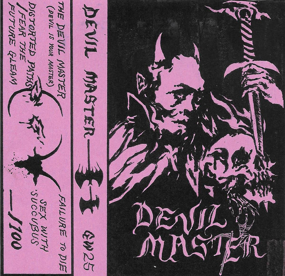 burnoutsyndrome: DEVIL MASTER - TAPE