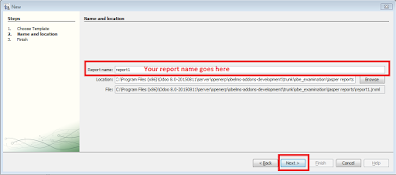 How to create a report in jasper ireport
