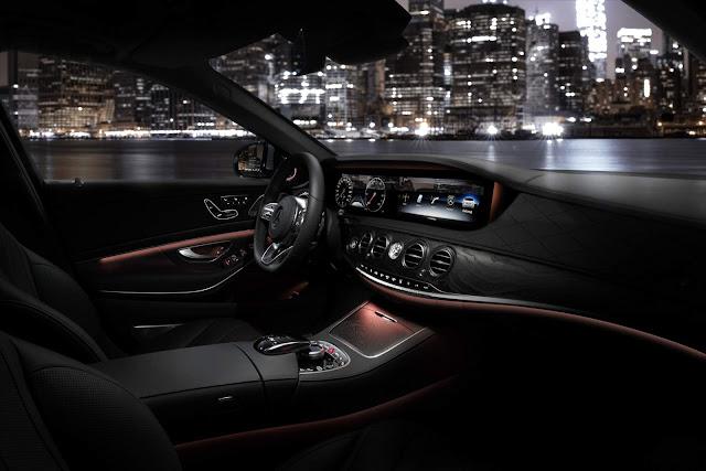 Novo Mercedes-Benz Classe S 2018 - interior