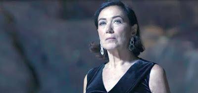 Valentina (Lilia Cabral) dará um tiro no peio do inimigo no último capítulo de O Sétimo Guardião