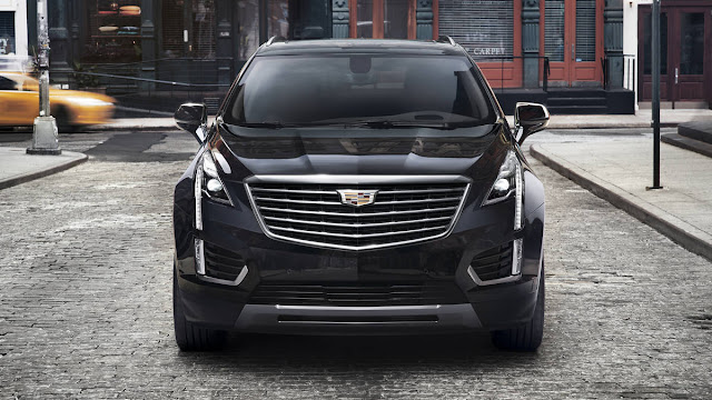 In Dubai 2017 Next Cadillac XT5 bows Edition front view