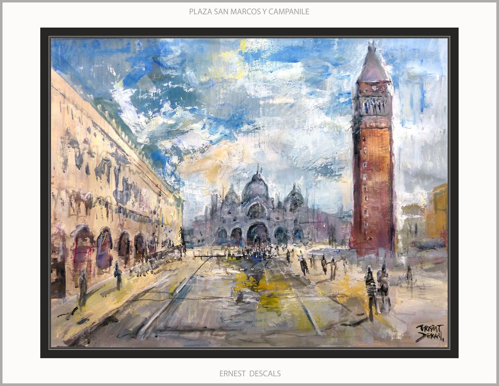 Ernest Descals.Artista Pintor: VENECIA-PINTURA-CANALES-SAN MARCOS ...