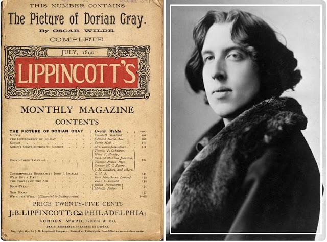Le portrait de Dorian Gray d'Oscar Wilde (première parution dans Lippincott)