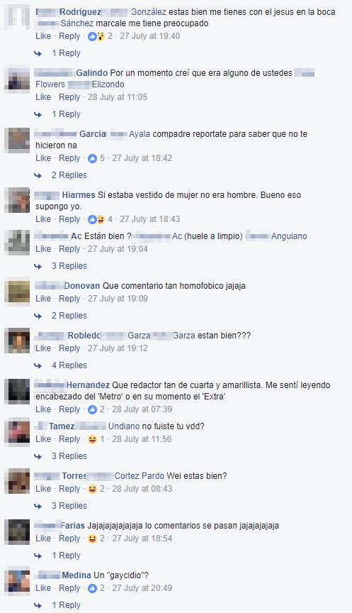 Transfobia El Norte Monterrey