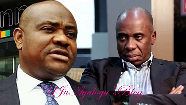 Surprise As Amaechi's Men Accept Wike's Olive Branch