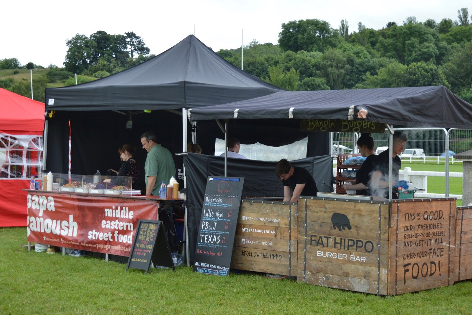 Corbridge Festival 2016 - A Review - Papa Ganoush and Fat Hippo