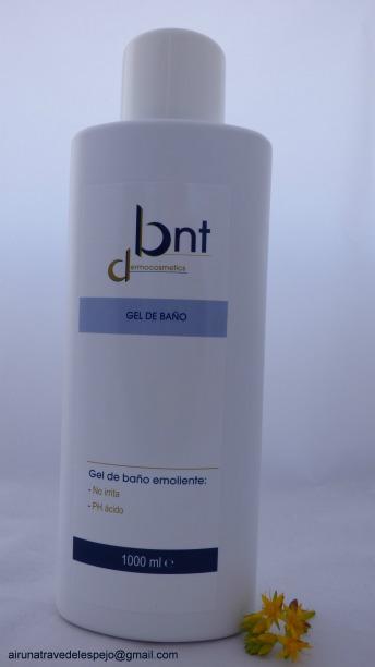 gel baño bnt dermocosmetics