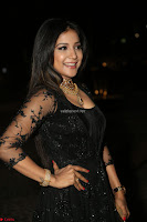 Sakshi Agarwal looks stunning in all black gown at 64th Jio Filmfare Awards South ~  Exclusive 140.JPG