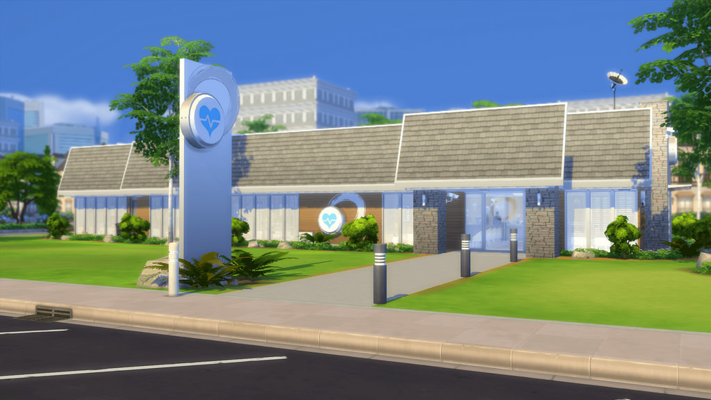 My Sims 4 Blog Belvedere Medical Clinic By Romerjon17