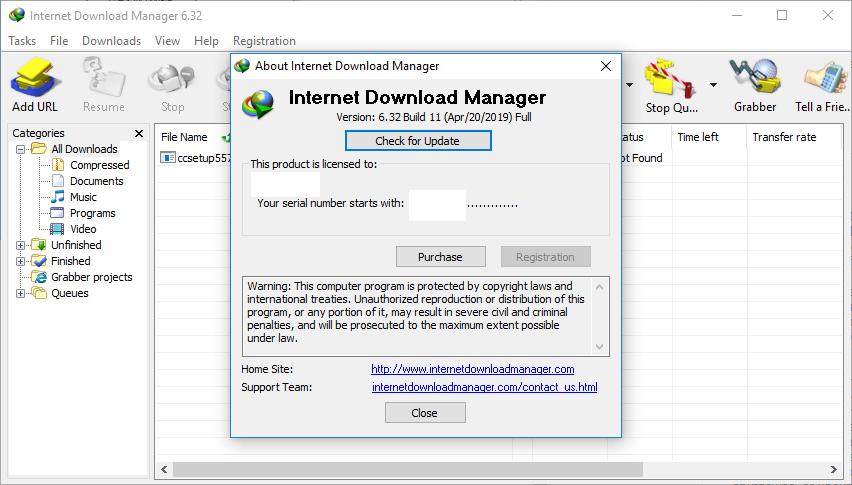 Internet Download Manager 6.32 Build 11