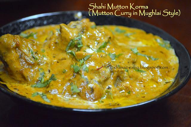 Shahi Mutton Curry