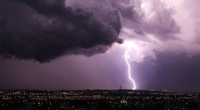 Instituto emite de tempestade com risco de granizo e ventos no Paraná