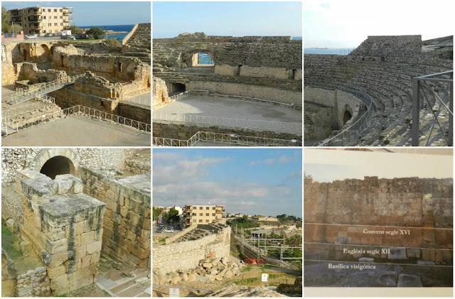 Patrimônios da UNESCO em Tarragona (Espanha) - Anfiteatro de Tarraco