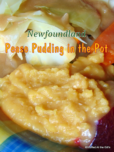 Newfoundland Pease Pudding in the Pot