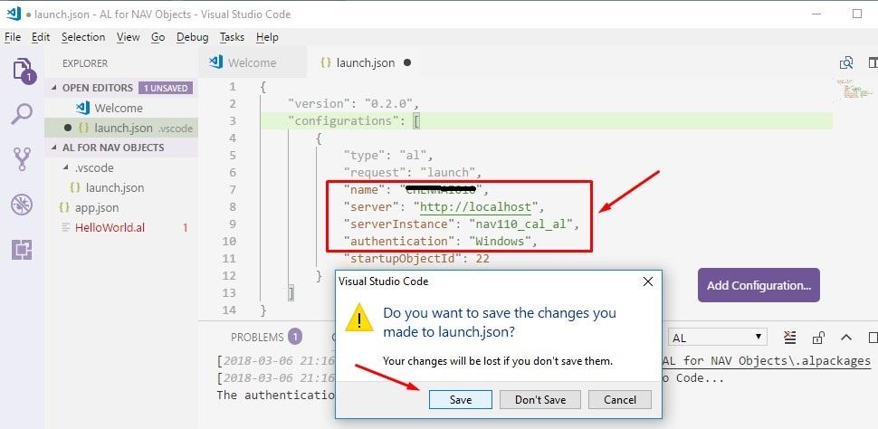 AL - Mapping AL with Local NAV Database  - Microsoft