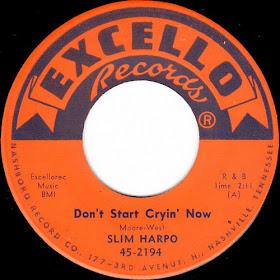 Excello Records' Slim Harpo 45