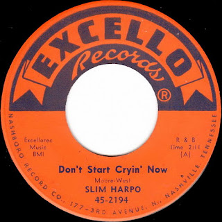 Excello Records' Slim Harpo 45