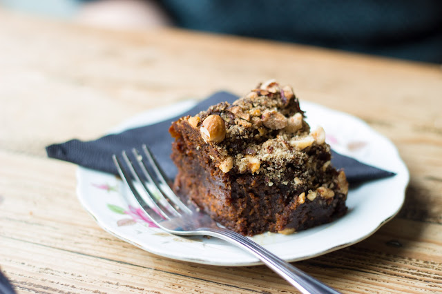 hazelnut chocolate brownie, Eatery Hopping: Leo's Beanery, Edinburgh, www.imogenmolly.co.uk