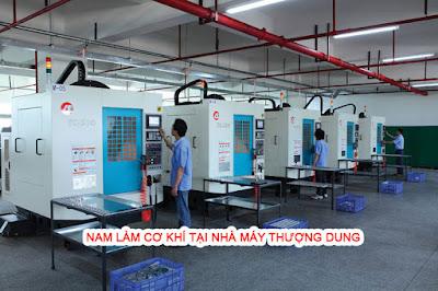 Nam làm cơ khí tại nhà máy Thượng Dung ( Ảnh minh họa )