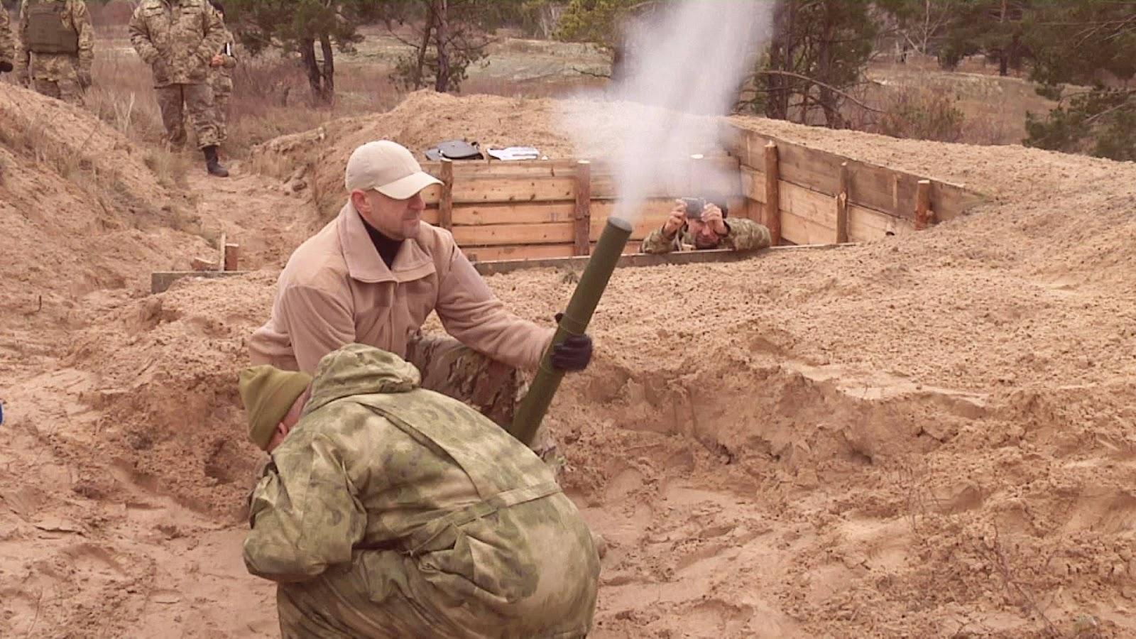 MP60 60 mm Lightweight Mortar