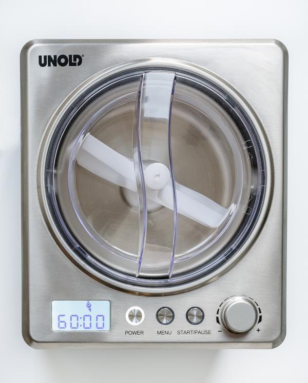 Produkttest Eismaschine Unold Profi