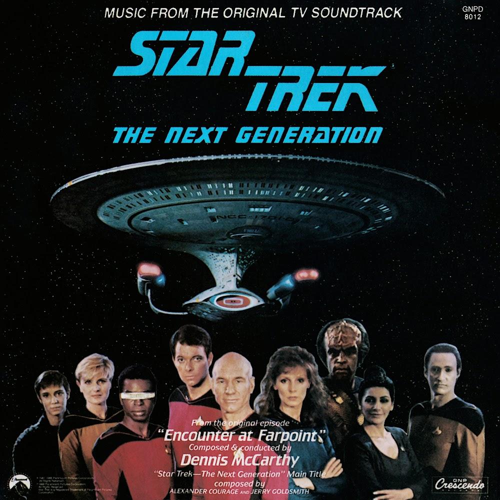 Ships Log Supplemental Star Trek The Next Generation Encounter At Farpoint Original TV Soundtrack