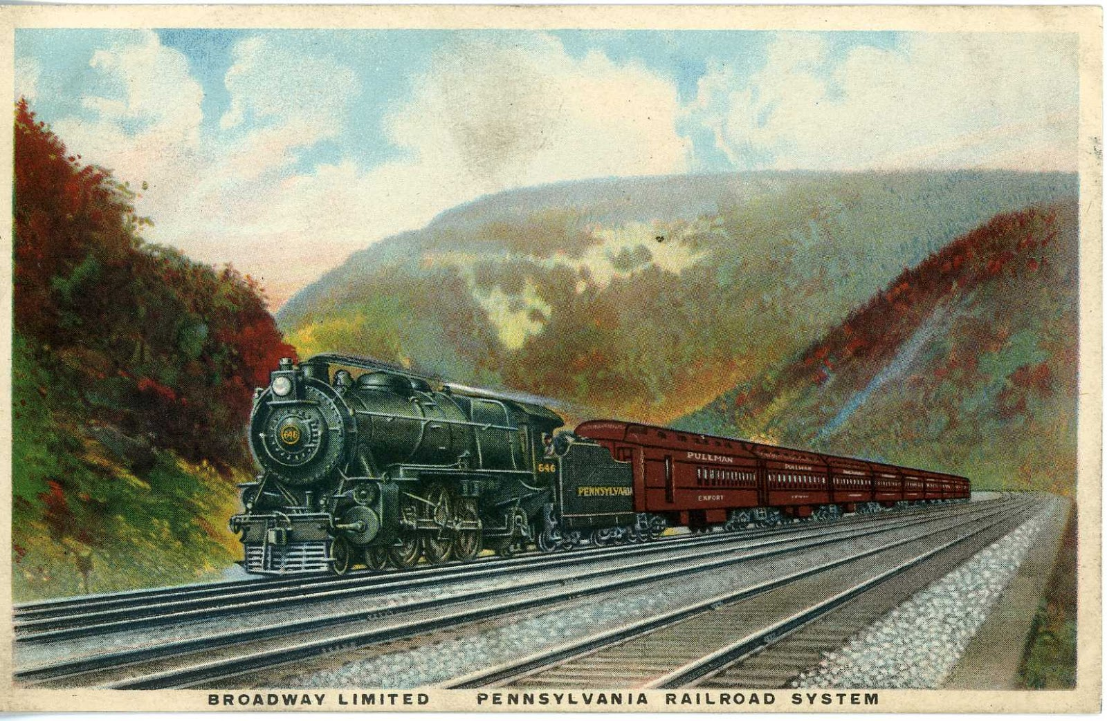 New Motors Erie Pa >> The National Railroad Postcard Museum: New York's ...