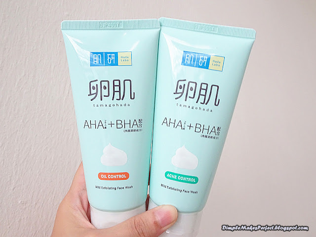 Aha bha facial cleansers