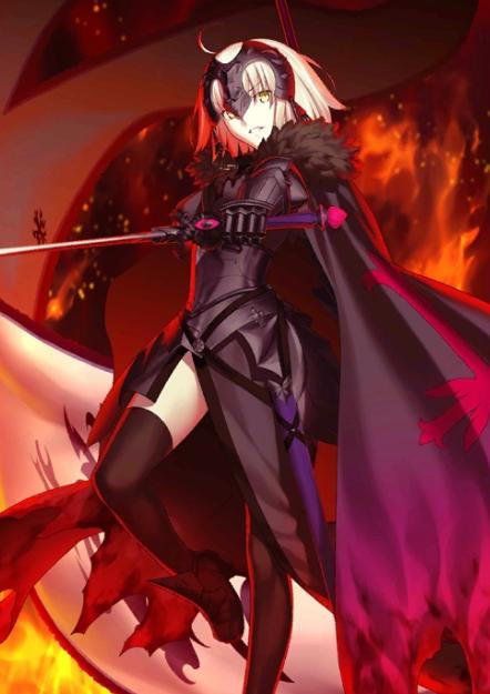 Jeanne d'Arc (Alter) dari Fate/ Grand Order.
