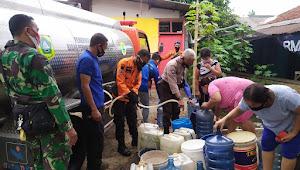28 Desa Mengalami Kekeringan, BPBD Kabupaten Bogor Distribusikan Air Bersih Untuk Warga Terdampak