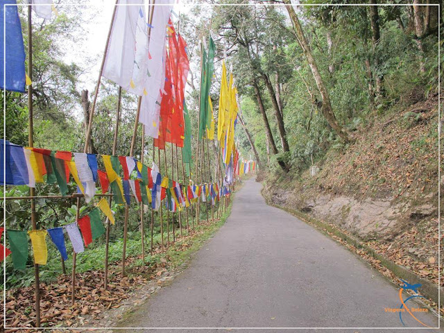 Templo de Samdrptse Guru Padmasambhava ou Guru Rinpoche - Namchi, Sikkim, Índia