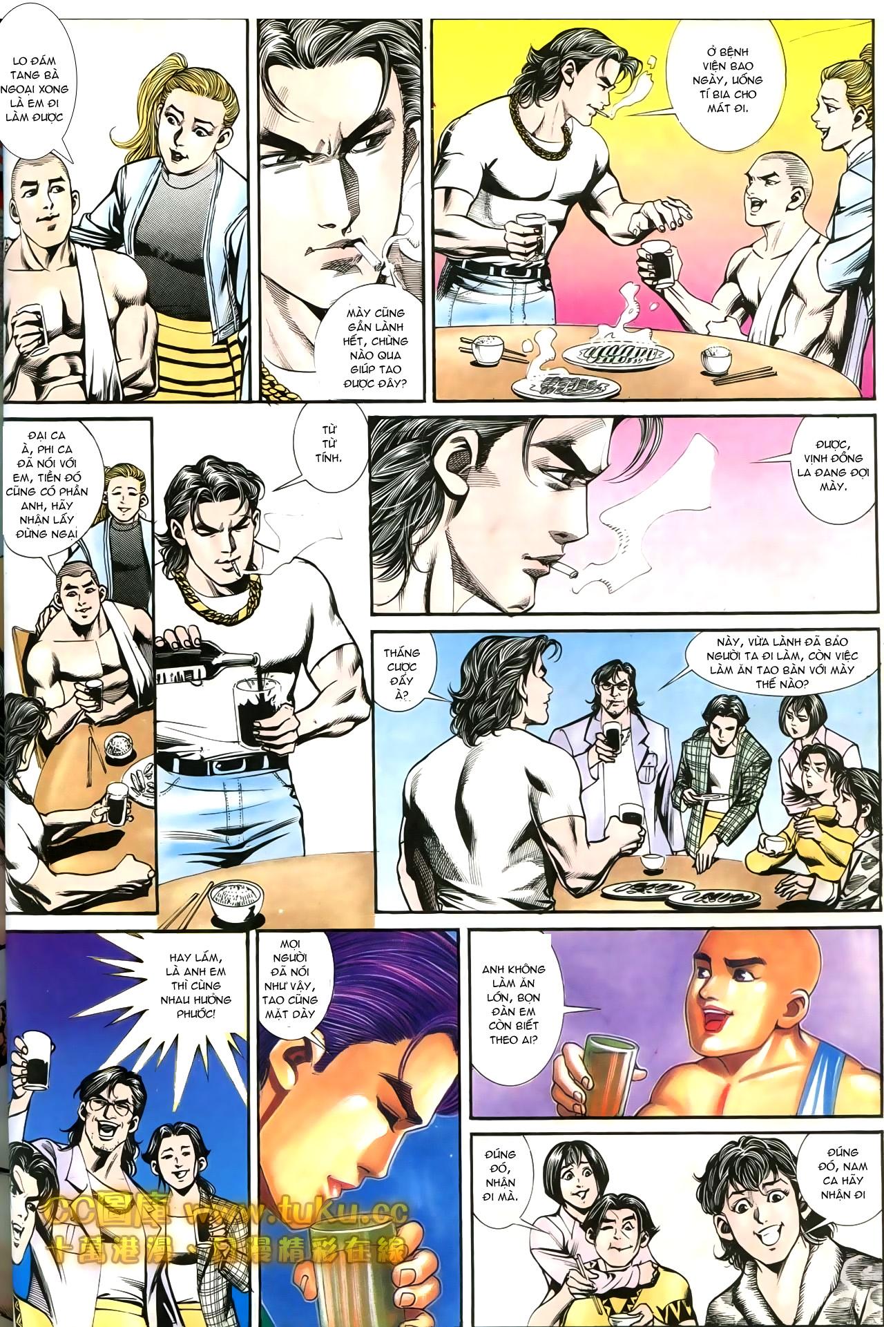 Người Trong Giang Hồ chapter 197: quạ đen báo thù trang 28