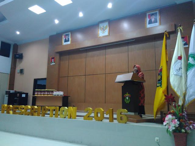 UKM Pharco FFUH Tuai Pujian dari WD III Farmasi Unhas