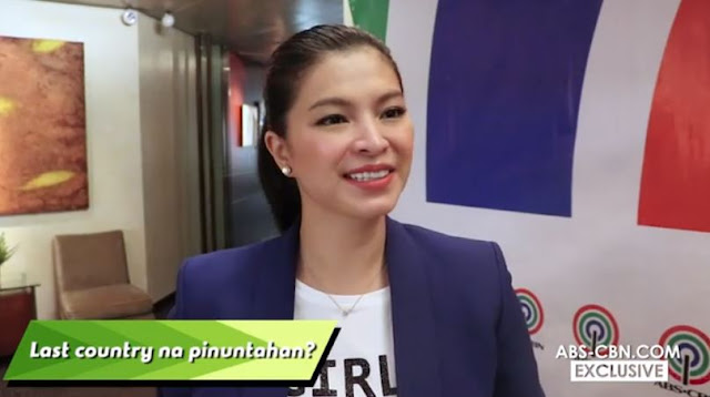 The Entertaining Interview Of Angel Locsin Doing The 'Last Thing Challenge'